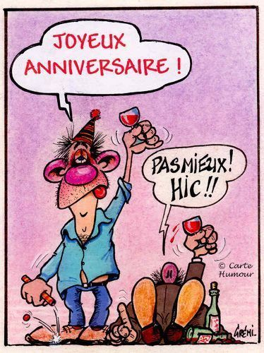 bon anniversaire &quot;humour&quot;